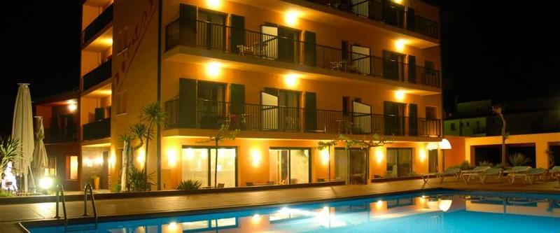 Restaurant Hotel Picasso de nit - Torroella de Montgrí - Costa Brava