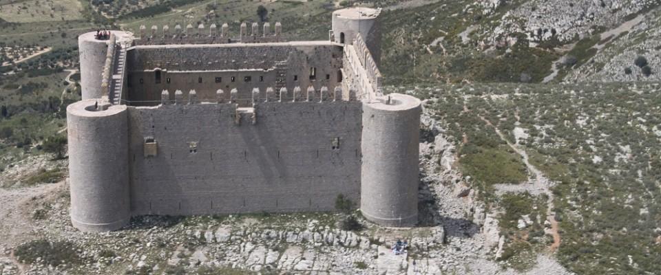 Castell del Montgrí del 1294 en temps d'en Jaume II